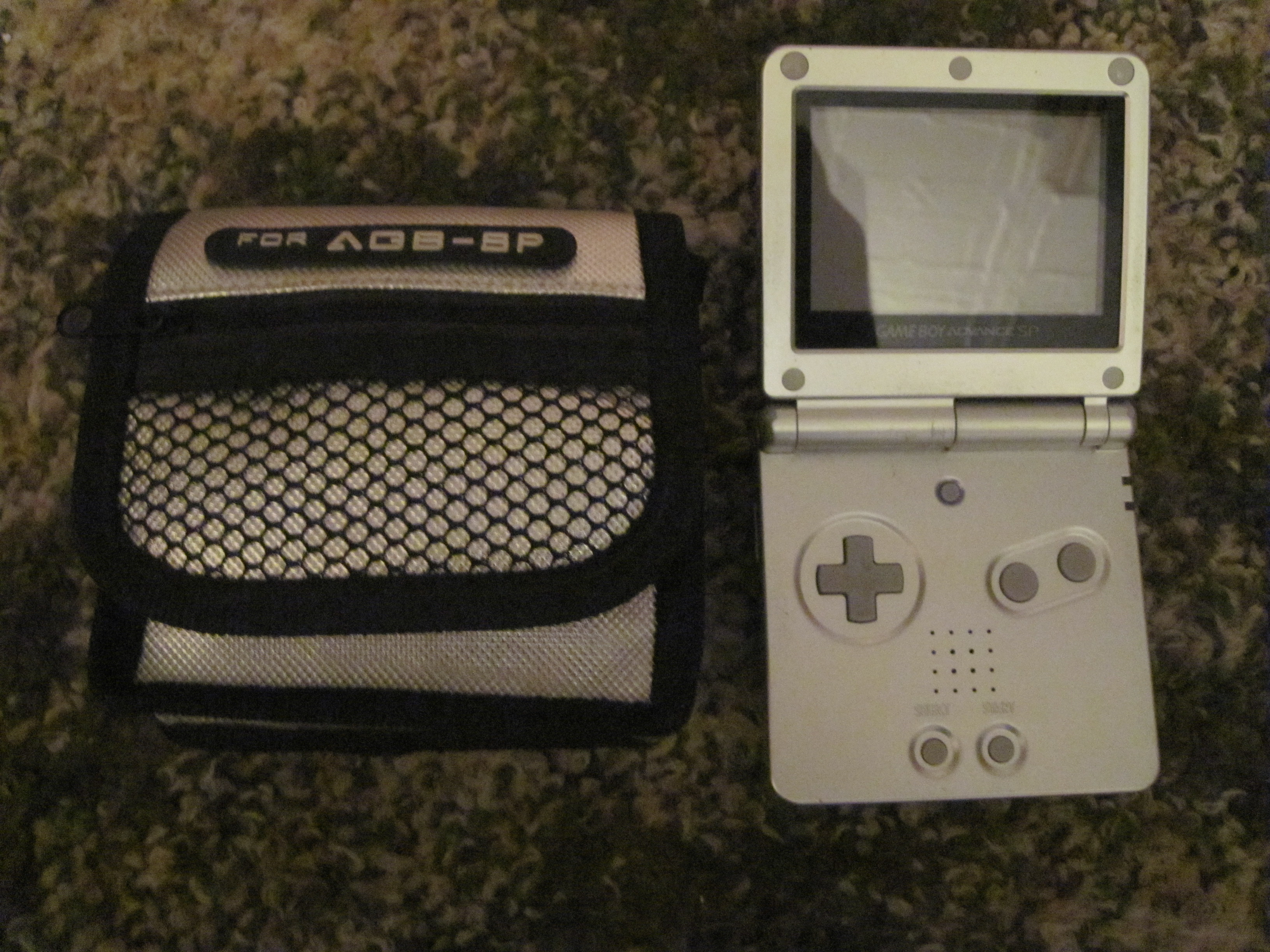 Gameboy Advance SP White (PAL)